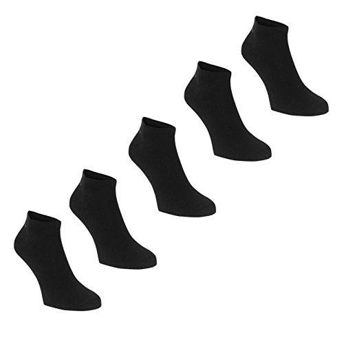 Slazenger Damen 5 Paar Sneakersocken Dunkel Asst Ladies 4-8