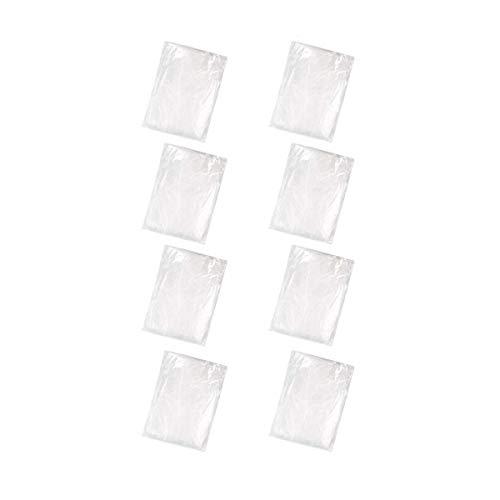 Awstech 使い捨てレインコート 8枚セット レインカバー 透明な雨具 防災グッズ 簡易 軽量 スポッツ観戦 通...