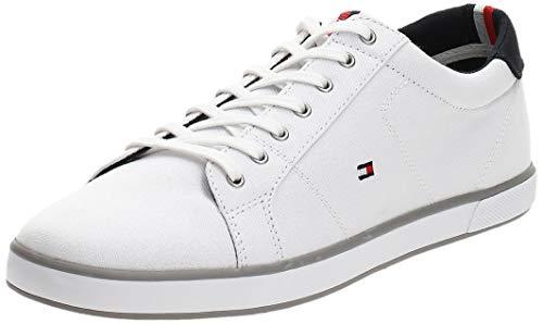 Tommy Hilfiger Herren H2285arlow 1d Low-Top, Weiß (Bianco), 43 EU