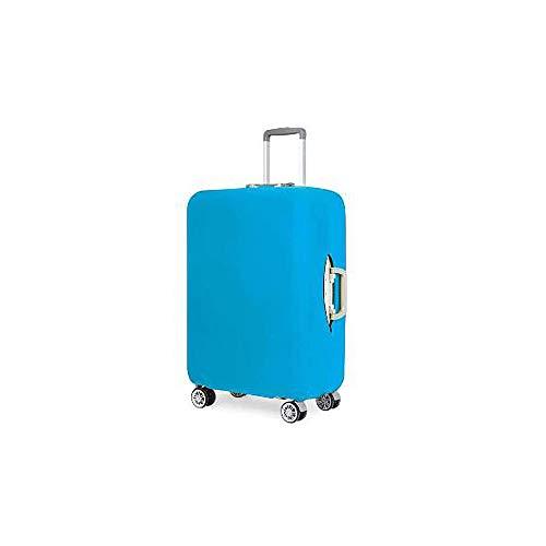 Dabuty Online, S.L. Pack Completo de Dos Fundas para Maletas. Cubierta Protector para Equipaje Color Azul. Tamaño S y L