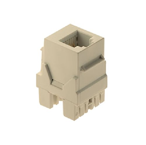 Legrand - On-Q WP3425LA 6P6C Keystone Connector, Light Almond