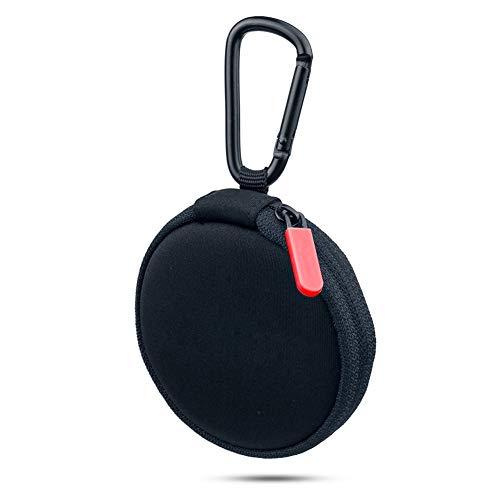 Ersatz-Reisetasche für Kopfhörer, Mini-Schutztasche, kompatibel mit Bose SoundSport In-Ear-Kopfhörern rot