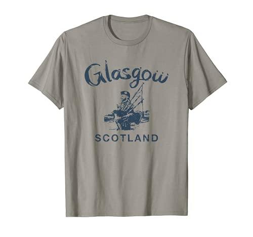 Escocia Glasgow Galico vintage escocesa Camiseta
