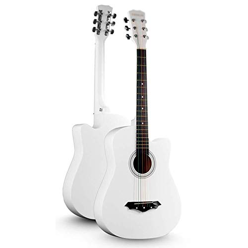 Guitarra eléctrica Guitarra acústica clásica guitarra con cuerdas de acero Tamaño Completo...