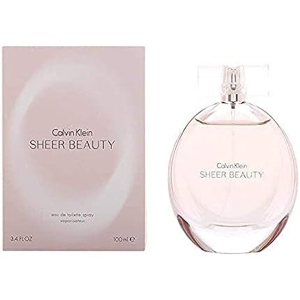 Calvin Klein Sheer Beauty Agua de Tocador Vaporizador - 100 ml