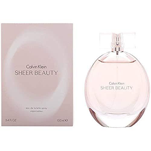 Calvin Klein Sheer Beauty Spray for Women, 3.4 Fl. Oz