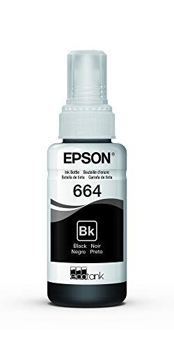 Garrafa de Tinta Original Epson EcoTank 664 Preto - T664120