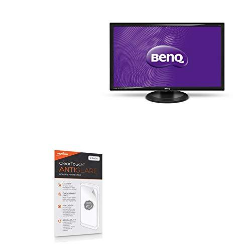 BenQ GW2765HT Screen Protector, BoxWave [ClearTouch Anti-Glare (2-Pack)] Anti-Fingerprint Matte Film Skin for BenQ GW2765HT
