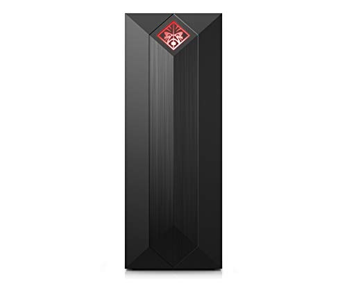 OMEN by HP Obelisk Gaming Desktop Computer, Intel Core i5-9400F Processor, NVIDIA GeForce GTX 1600 6 GB, HyperX 16 GB RAM, 512 GB SSD, VR Ready, Windows 10 Home (875-0141, Shadow Black)