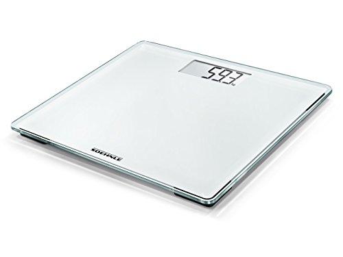 Soehnle Compact digitale weegschaal, 200 personen 31,5 x 30,5 x 3,5cm wit