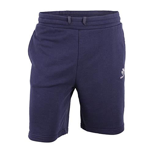 Converse Star Chevron EMB Short FT Black Herren Jogginghose Sweat Shorts blau, Bekleidungsgröße:XL