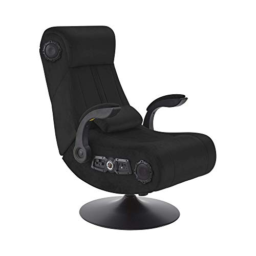 X Rocker Play Deluxe 4.1 Pedestal Gaming Stuhl mit 4.1 Soundsystem, Vibration & Bluetooth