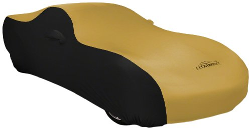 Coverking Custom Fit Car Cover for Select Chevrolet Truck C/K 150025003500 Models - Satin Stretch (Gold with Black Sides)