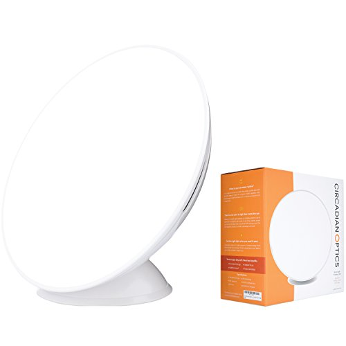 Circadian Optics Lampu Light Therapy Lamp | As Seen On Shark Tank | 10,000 LUX Ultra Bright LED |...