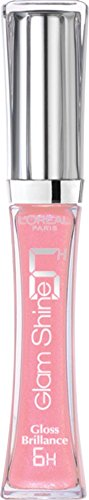 L'Oréal Paris Glam Shine 6H Lipgloss, 102 Always Pink