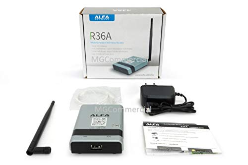 ALFA R36A Portable Wireless 802.11n WiFi USB Router for AWUS036NH AWUS036NEH R36