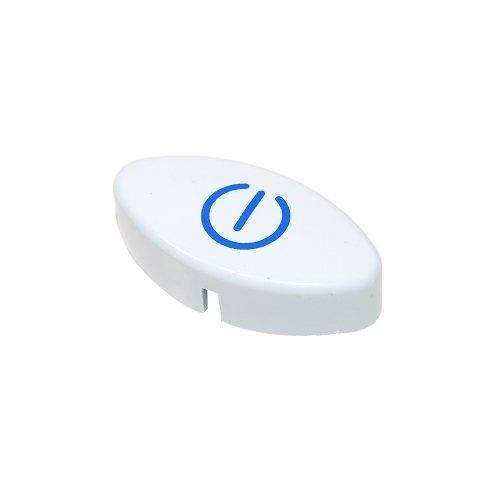INDESIT - Boton pulsador lavavajillas Indesit IDL ovalado