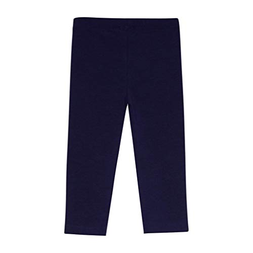 Amomí Leggings Mallas Pantalones Largos Ropa Deportiva Niña Bebé 12 Meses (12 Meses, Azul Marino)