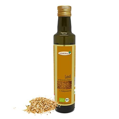 Adrisan Leinöl bio* 1. Kaltpressung 750 ml - Omega 3 Öl
