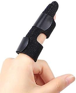 DOACT Férula del Dedo, Dedo Extensión Férula para Dedo Roto y Férula de Gatillo, Fijación del Alivio del Dolor Ayuda de Aluminio Incorporada, Férula Pulgar, Dedo de Martillo, Fracturas Dedos