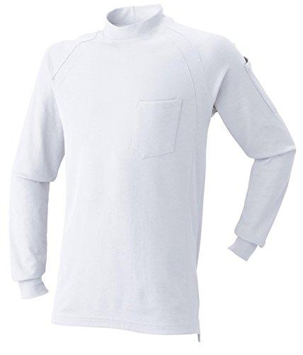 AT:1500-15 長袖ニットハイネックシャツ<br>2016年秋冬!<br>シンプルで合わせやすい!<br>[LL 09: ホワイト]
