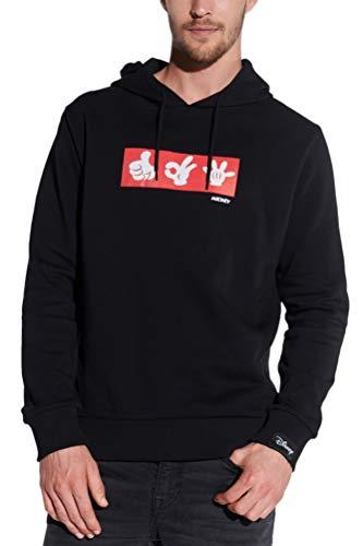 Course Mickey Mouse hoodie met originele licentie voor heren, trui met capuchon, sweat Disney