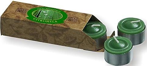Vela Citronela Repelente - Confeccionada com Óleo Essencial