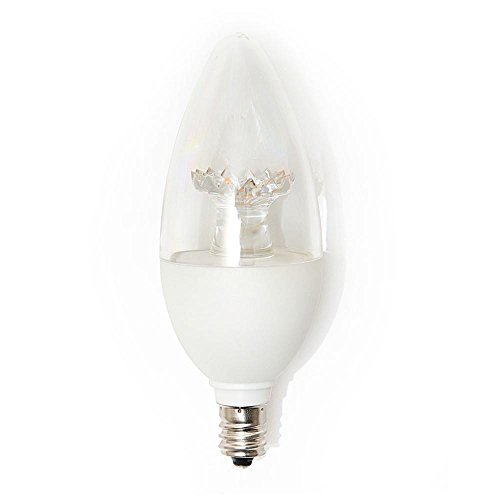 EcoSmart 40W Equivalent Daylight B11 E12 Energy Star and Dimmable LED Light Bulb (3-Pack)