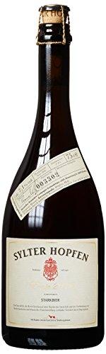 Sylter Hopfen, Bierspezialität mit Original Hopfen der Insel Sylt  (Bier mit Champagnerhefe) (1 x 0.75 l)