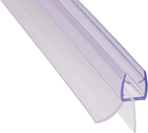 REDICHT 100cm Duschdichtung transparent, für Glasstärke 6mm 7mm 8mm, Ersatzdichtung Dusche, Duschkabine Dichtung, UV- und Schimmelbeständig