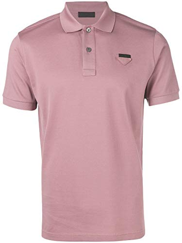 Prada Luxury Fashion Herren UJN444XGSF0638 Rosa Baumwolle Poloshirt | Frühling Sommer 20