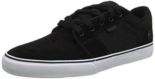 Etnies Men\'s Barge LS Skateboarding Shoes, Black (992-Black/White/Black 992), 5 UK 38 EU