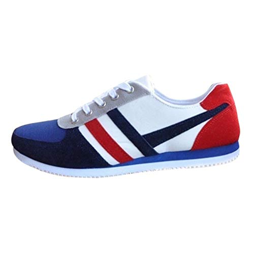 LYRICS Herren Sneaker Fitness Gym Mesh Atmungsaktiv Turnschuhe Schüler Freizeit Schnüren Basketball Schuhe Keep Running Sneaker Jogging Hose