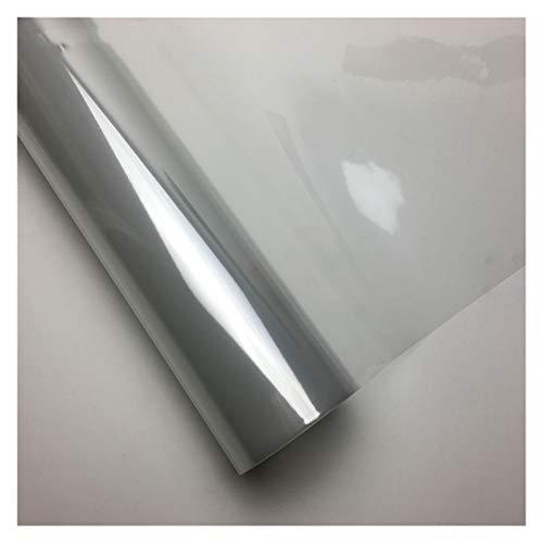 SONGYG 3-Capa Protectora Transparente Brillante película del Vinilo, Usados para la Pintura de Coches, de Motos, Ordenador portátil, Monopatín Embalaje Vinilo Fibra Carbono