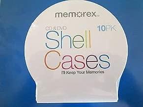 MEMOREX C-Shell Cases Clear 10PK