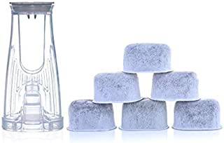 Keurig Starter Kit Replacement for K200, K250, K35, and K-compact Brewers - Includes Rear Reservoir Filter Holder And 6-pack of Keurig 2.0 Compatible Water Filters