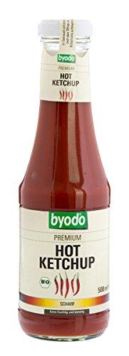 Byodo Bio Hot Ketchup, 500 ml (1 x 500 ml)