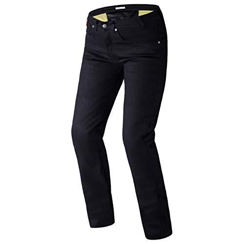 REBELHORN Classic II Slim Fit MotorradJeans CE-Level 2 Knie- und Hüftprotektoren Dupont Kevlar Panels Reflektierende Elemente 4 Taschen CE-Zertifiziert