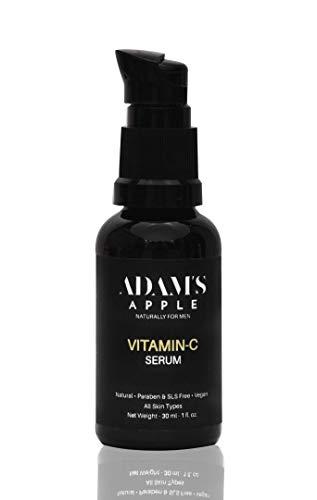 Adam's Apple Vitamin-C Face Serum, 30 ml | Kakadu Plum, Ferulic Acid, Vitamin-E, Hyaluronic Acid | Skin Repair, Brightening, Beat Dark Circles | Made in India