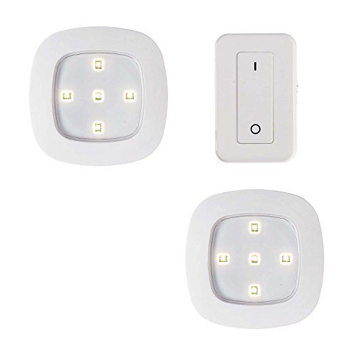 Light It! By Fulcrum, Remote Control LED Lights, Wireless, 3 Piece Set