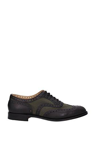 CHURCH'S BURWOODHEEB063 Classic Schuhe Harren Schwarz und grau 42