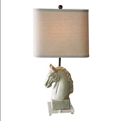 YAYA tafellamp bedlamp, beddengoed slaapkamer licht, bedlampje met stoffen kap voor slaapkamer, woonkamer, kantoor E27 LED bedlampjes