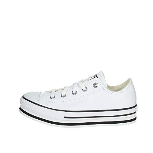 Converse Leather EVA Platform Chuck Taylor All Star Kids