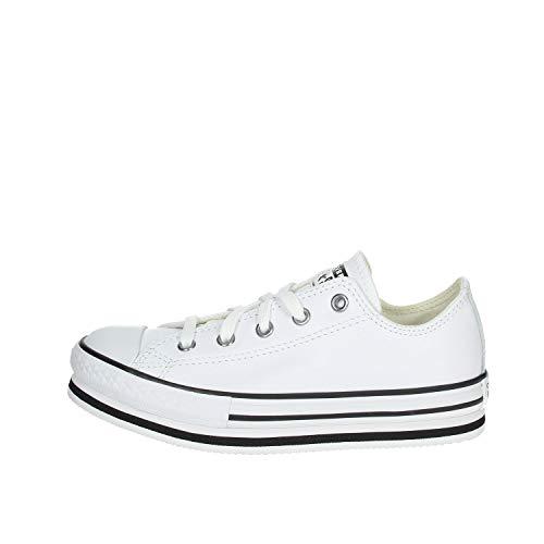 Converse - Zapatillas deportivas Ctas Lift Ox Girl Blanco Size: 36 EU