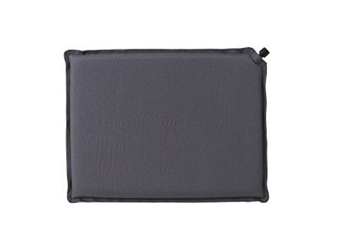 Relags SI Coussin d'assise Noir 40 x 30 x 2,5 cm