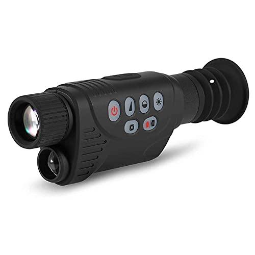 Bdesign Visión Nocturna Gafas/monoculares, cámara Digital infrarroja (IR), binoculares con Doble Foto + grabación de Video para Caza al Aire Libre, Camping, observación de Aves y vigilancia