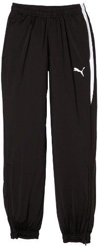 Puma Kinder Hose Zipped Leg Opening, Black-White, 164, 654041 03