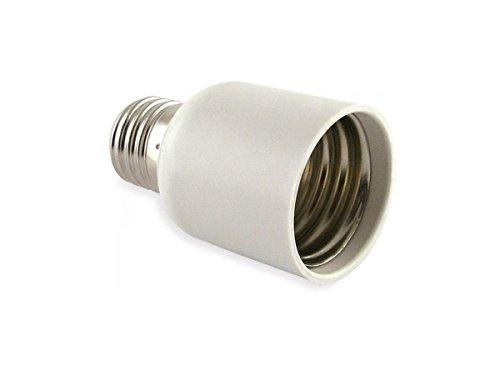 takestop® Adaptador Convertidor WS Puerta lámparas de E40a E27portalámparas para lámpara Bombilla...