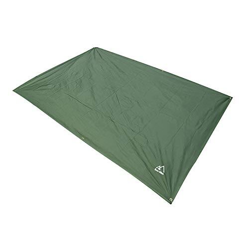 Lonas para tienda, lona impermeable para tienda de campaña, colchoneta para picnic, verde militars Lona multifuncional impermeable para tienda de campaña, refugio ligero anti-UV para acampar