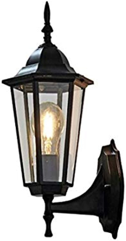 HBLJ Nachttischlampe Auenbeleuchtung Villa Auenwandleuchte Kreative Vintage Garten Wandleuchte Balkon Auenlaterne Wandleuchte